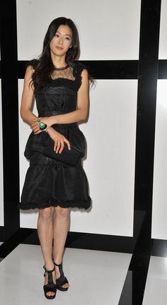 Gianna Jun Photos - PFW: Front Row at Christian Dior - Zimbio