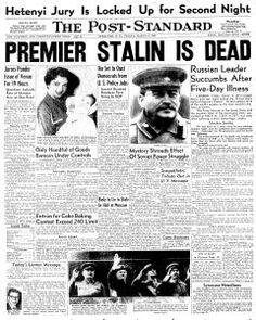 Joseph Stalin dies | The Daily Perspective