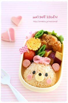 【テディベアちゃんのお弁当♪】 | Mai's スマイル キッチン