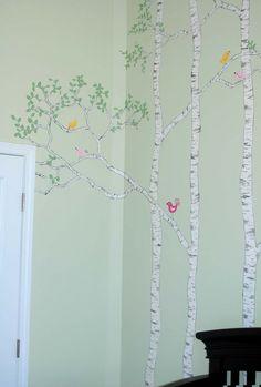 Mary Elizabeth Arts: Nursery Mural