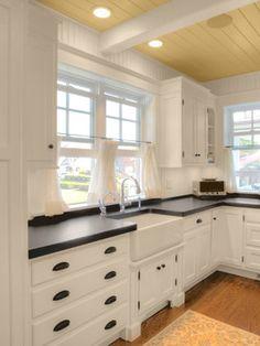 Black Laminate Countertop Design Ideas, Pictures, Remodel and Decor