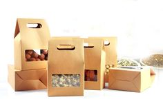Find More Candy Boxes Information about 10*15.5*6cm 100pcs Quality packaging Kraft paper Stand Up bag Food Square window box Bags of nuts/Tea/Cake/Cookies/Coffee bags,High Quality bag coach,China bag ps1 Suppliers, Cheap bag chain from Fashion MY life on Aliexpress.com