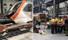 07/28/2017 - 'It was like an earthquake': 54 injured after train crashes into buffers at Barcelona station in low speed collision on first day of rail strikes
