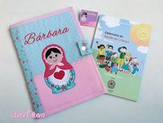 Capa caderneta de vacinas/ Porta documentos infantil Matrioska