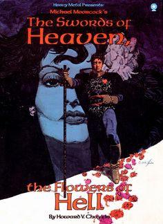 Howard Chaykin illustrated a number of lavish graphic novel projects. This TP is an original collaboration on Michael Moorcock's The Swords of Heaven, The Flowers of Hell published by Heavy Metal. See my blog @ http://beachbumcomics.blogspot.com/