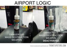 Airport logic. Yes, and that makes sense?
