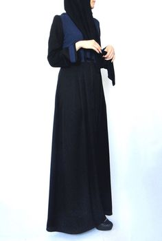 Hoodie Maxi robe Marine et noir par LanaLik sur Etsy