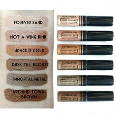 Jordana Made to Last Liquid Eyeshadow Review : Quick Verdict: A must-buy (as long as you don't mind a little glitter).