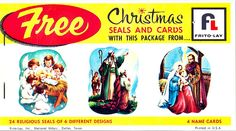 vintage christmas seals by amy_b, via Flickr
