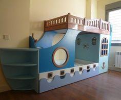 Cama barco pirata en pinterest cama de casa de juegos - Cama barco pirata ...
