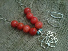 2012 Spring Jewelry Gift Set with Necklace and by StixxandStones, $29.00