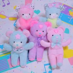 Image shared by sam. Find images and videos about cute, kawaii and pastel on We Heart It - the app to get lost in what you love. Kitsch, Cute Kawaii Girl, Handmade Stuffed Animals, Pastel Room, Kawaii Plush, All Things Cute, Animal Wallpaper, Collage, Comic