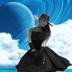 mujer gotica