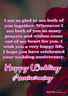 Use Happy wedding anniversary wishes to wish your friends or relatives. Couple recall all the memories, all the good and bad moments they spent together. Recall all the beautiful memories. Harsh and bitter realities make people say sorry to one another. Anniversary Quotes For Couple, Happy Wedding Anniversary Wishes, Anniversary Greetings, Romantic Anniversary, Wedding Wishes, Perfect Couple, You Are Perfect, Beautiful Couple, Beautiful Day