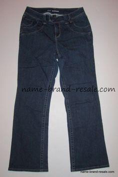 c5c2ebf04fd LANE BRYANT Boot Jeans Womens PLUS 14 1X Dark Wash Buttoned Flap Back  Pockets  LaneBryant