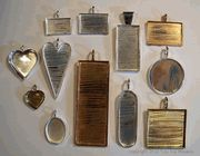 Jewelry Blanks for mosaic jewelry
