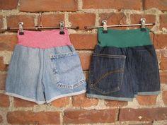 Jeans Shorts aus kaputten Jeans von Re:nahte auf Dawanda.com