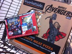 We had a great time with a movie & pizza night with The Avengers bluray/dvd/graphic novel pack! #MarvelAvengersWMT #CBias
