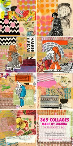 iHanna's 365 Collages 2018 Week 49 #365somethings2018 #art #konst Art Journal Pages, Art Journals, Journal Ideas, Mixed Media Collage, Collage Art, Vintage Paper Crafts, Hanna Anderson, Christmas Journal, Glue Book