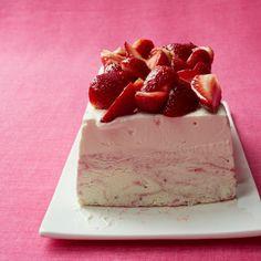 Strawberry Ice Cream Cheesecake  - Delish.com