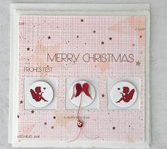 mit der Kreativbox Dezember kamen viele Weihnachtspapiere in Neon   ein Herausforderung für mich     aber auch spannend die eigen...