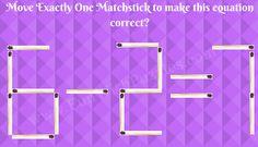 Matchstick Math Puzzle-5