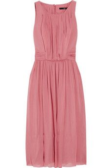 Different with a high neck, but could work for a bridesmaids option with a great updo, earrings and shoes...By Tibi