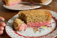 Recette facile de gâteau à la rhubarbe