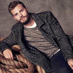Jamie Dornan, Men's Fashion, Actor, Male Model, Beautiful Men, Handsome, Hot, Eye Candy, Muscle, Sexy, Beard ジェイミー・ドーナン メンズファッション 俳優 男性モデル