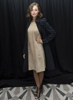 Fashion forward: While her co-star Ella Purnell, who plays Emma Bloom in…