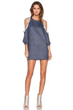 Erin Kleinberg Lolla Dress in Dark Blue
