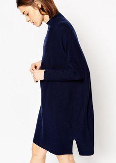 Cashmere Mix Tunic Dress, $55