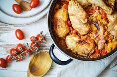 Recept: Kuřecí kari s jasmínovou rýží - Jak v kuchyni Paella, Shrimp, Chicken, Meat, Ethnic Recipes, Food, Hoods, Meals, Kai