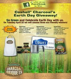 Enter to win a $1000 Lowe's gift card in the Earth Day Giveaway #sweepstakes (ends 4-22-14)