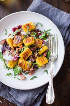 Gluten-free Pumpkin Ricotta Gnocchi by bojongourmet #Gnocchi #Pumpkin #GF