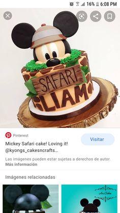 Boys First Birthday Party Ideas, Mickey Mouse 1st Birthday, Mickey Party, Boy Birthday Parties, Elmo Party, Elmo Birthday, Dinosaur Party, Dinosaur Birthday, Safari Birthday Cakes