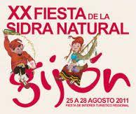Fiesta de la sidra, Gijón, Asturias.
