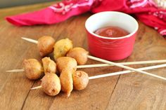 Cowboy Corn Dogs With a Twist | Noshing With The Nolands