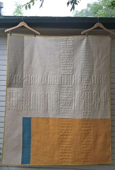 Love the mix of straight line quilting on this one... Back of Crossroads