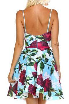 Shoptiques Product: Floral Sky Dress