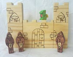 Check out this item in my Etsy shop https://www.etsy.com/uk/listing/256211193/castle-knight-and-dragon-block-set