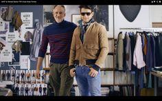 Gant by Michael Bastian Aww :) Michael Bastian, Khaki Pants, Blazer, American, Jackets, Men, Fashion, Down Jackets, Moda