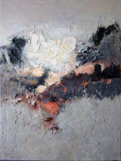 ART Actuel Peinture Toile J C Sarry Tableau Abstrait | eBay