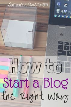 Curious about starting a blog? How to start a blog the right way! blogging tips ideas #blogging #resources