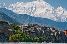 #Nepal is situated in the Himalayas and the  capital city is Kathmandu. it is surrounded by China and India. Read to find more.