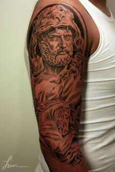 neo polytheist: Greco-Roman Pagan Tattoos