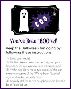 East Coast Mommy: Boo'ing... {free printables}