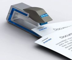 stapler that also prints the date