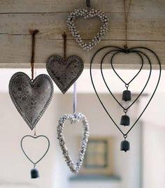 Variety of hearts.