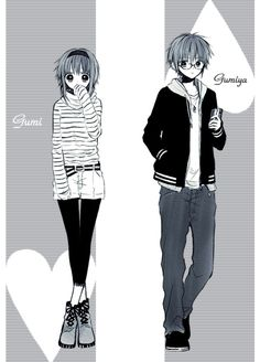 Vocaloids - Gumi & Gumiya Megpoid -「らくがきんちょ」/「an」の漫画 [pixiv]